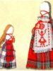 Народный костюм крестьян Коротоякского уезда Воронежской области